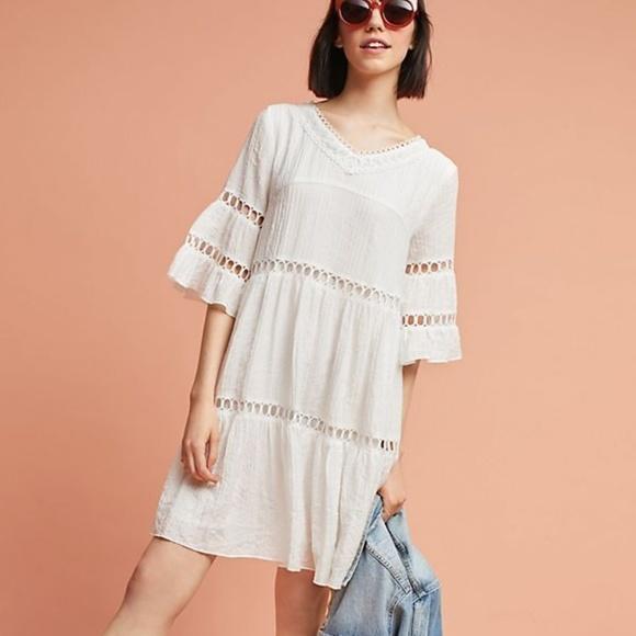Anthropologie Dresses & Skirts - Anthropologie Clara Lace Swing Dress
